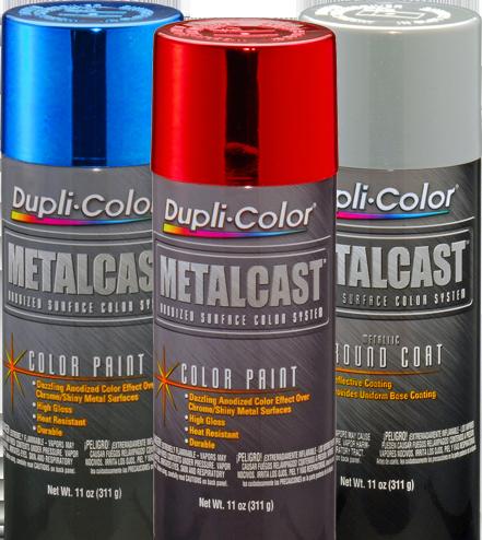 metalcast anodized automotive paint dupli color metalcast anodized automotive paint turns. Black Bedroom Furniture Sets. Home Design Ideas