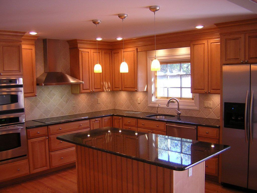 Kitchen kitchen recessed lighting and kitchen lighting for Kitchen lighting design