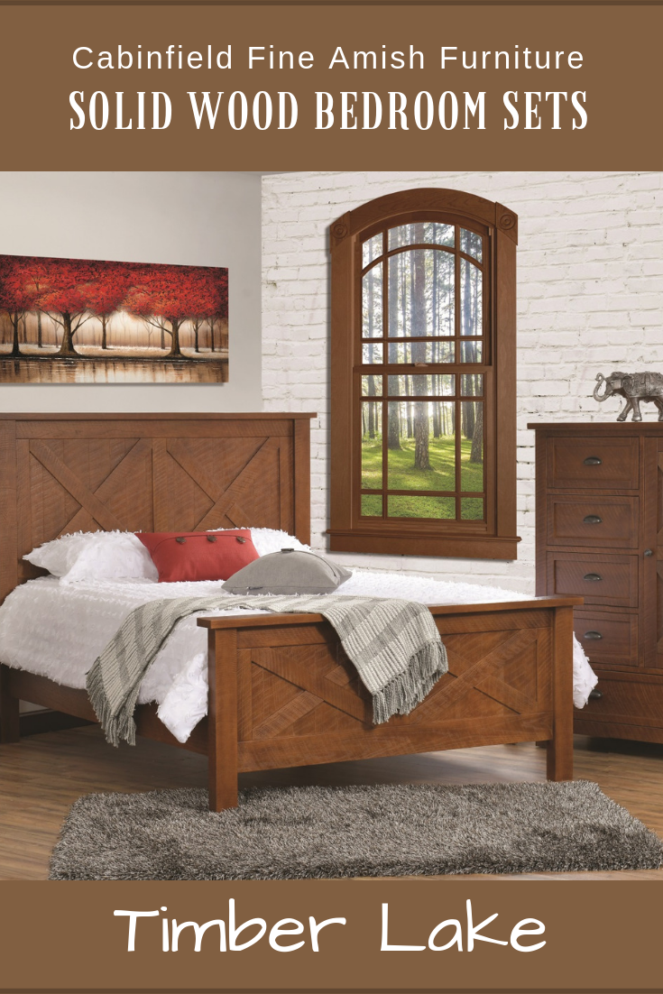 Farmhouse Bedroom Set Timber Lake Amish Bedroom Set Bedroom