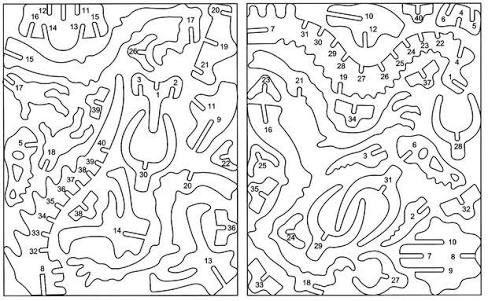 Hasil Gambar Untuk 3d Dinosaur Puzzle Template Gambar