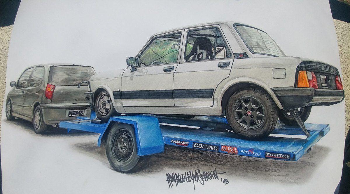 Fiat 128 Super Europa 1 4 De Milla Joaquin Alejandro Ramallo