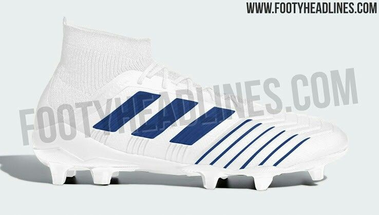 a16560732 Classy white/ blue next-gen adidas Predator 2019 boots leaked ...