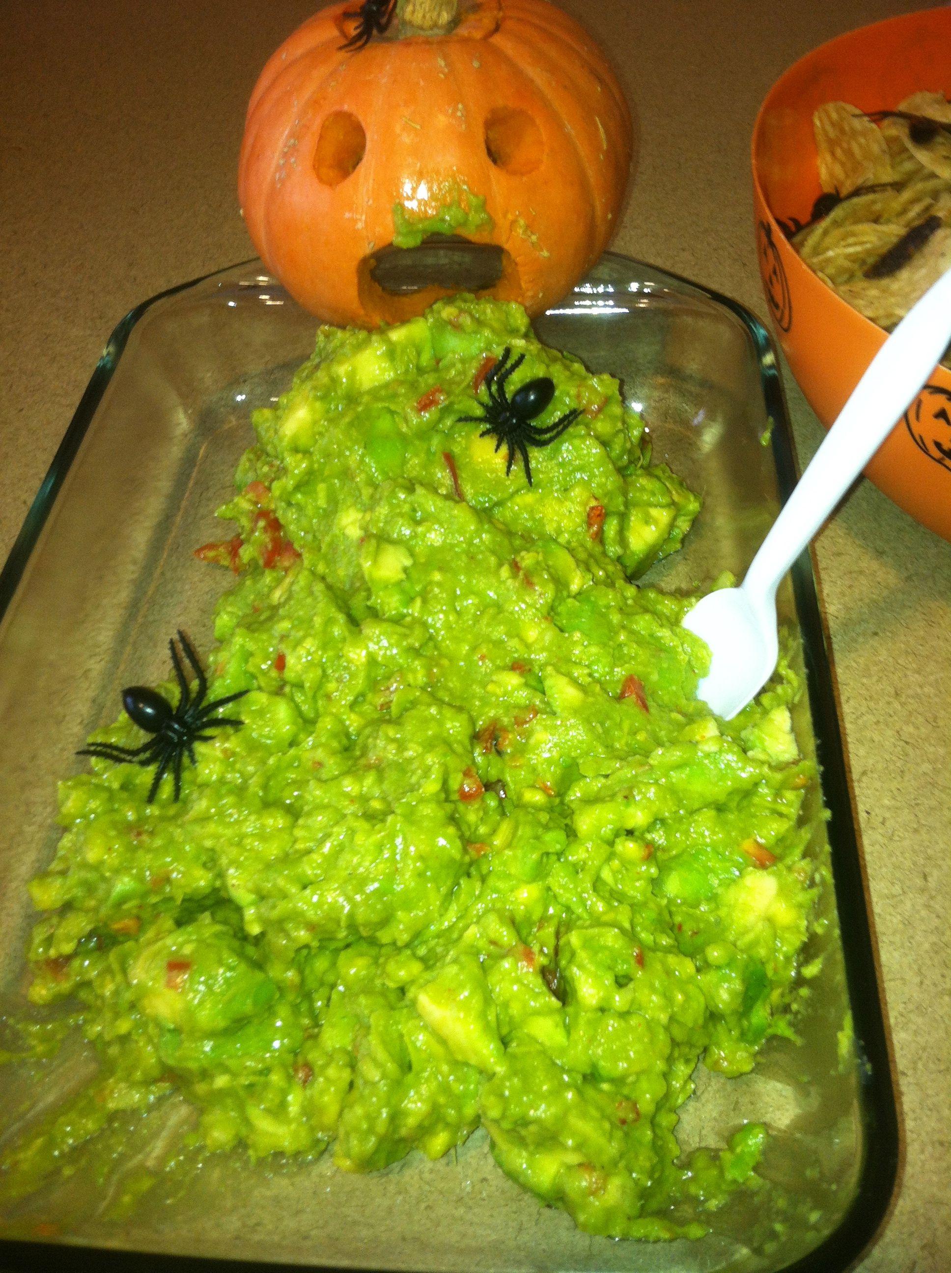 made this for a halloween potluck! Halloween treats