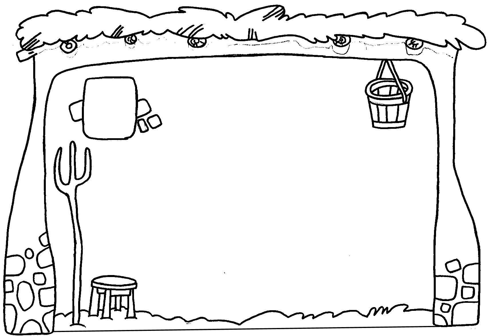 Establo para pintar cerca amb google granja - Como decorar un dibujo de navidad ...