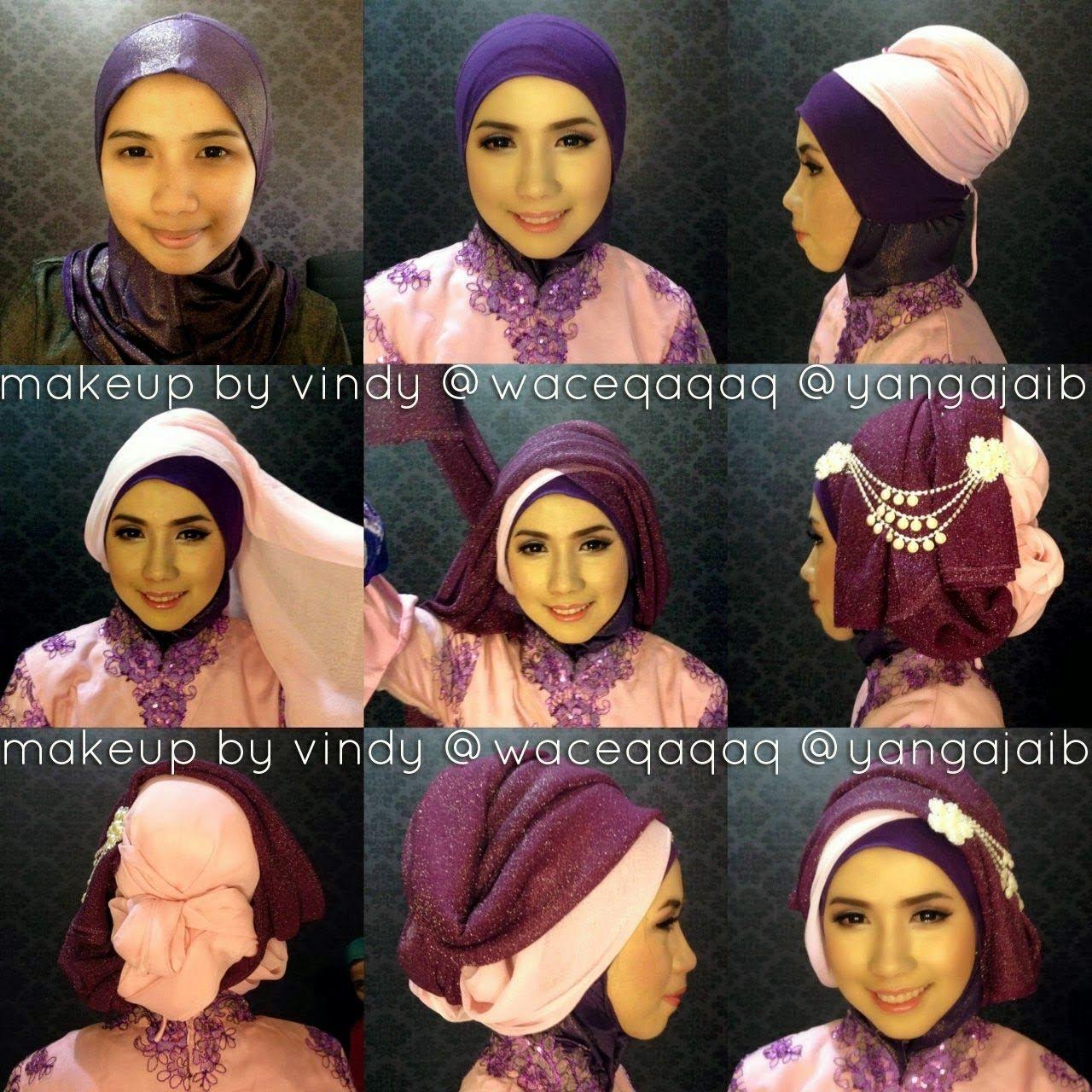 Tutorial Hijab Segi Empat Untuk Kebaya Untuk Kebaya Tutorial