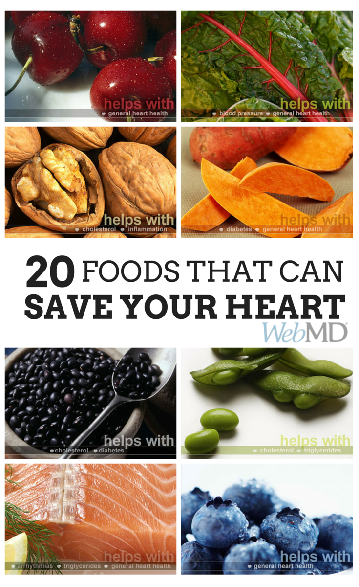 Slideshow: 20 Foods That Can Save Your Heart #healthyfood