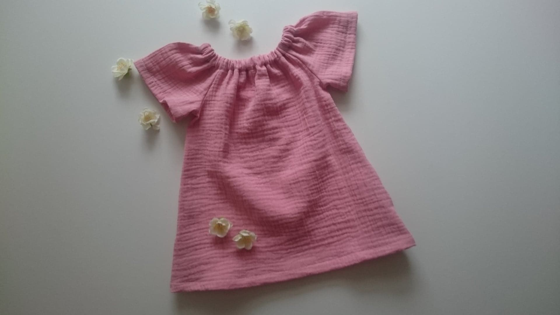 Tunika Musselin Bluse Baby Kind Musselintunika Babytunika Etsy Summer Dresses Fashion Dresses