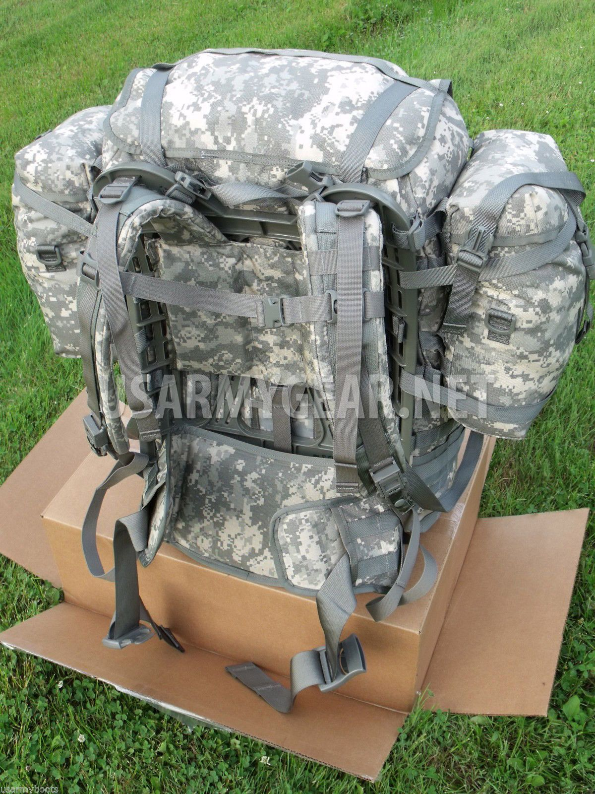 a7b5938b4c US Army MOLLE II ACU Rucksack, Backpack Complete Set, Very Good Condition |  US Army Gear