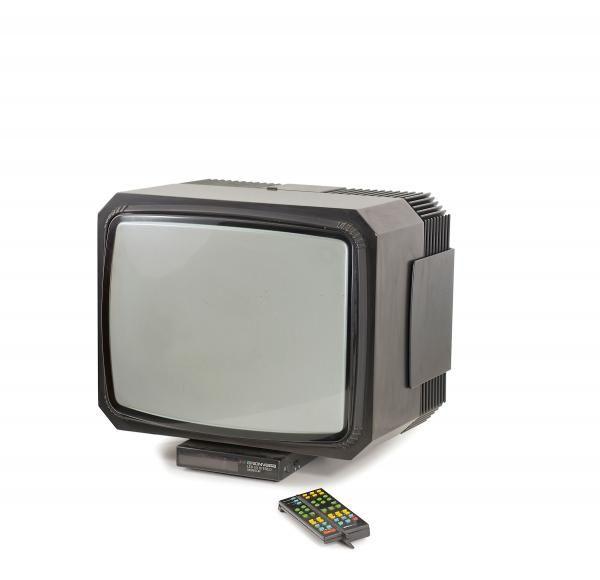 Mario Bellini. 'LED 20' TV set, 1980. Made by Brionvega, Milan.