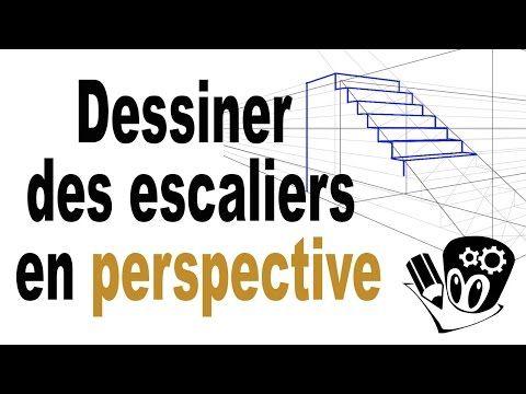 Comment dessiner des escaliers en perspective? - YouTube Dessin - Dessiner Maison D Gratuit