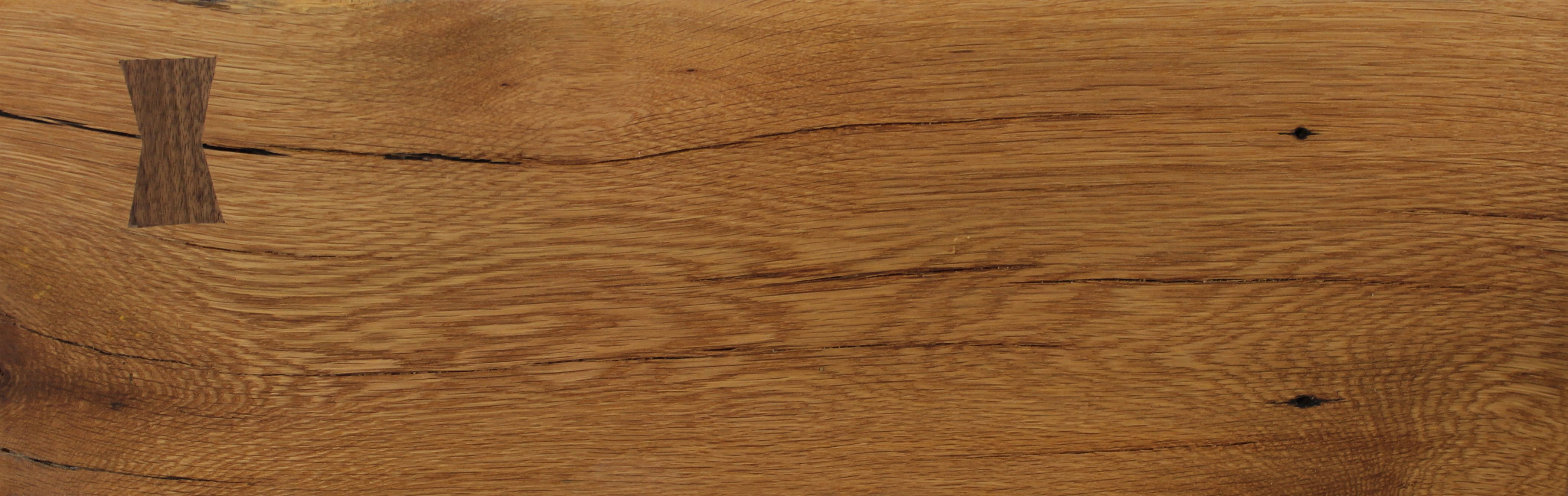 Heritage Reclaimed Oak Wide Plank With Black Walnut