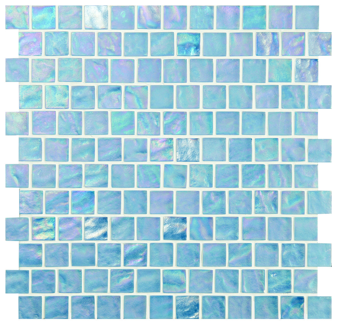 Blue glass \'Tranquility\' mosaics tiles are perfect for a fresh ...