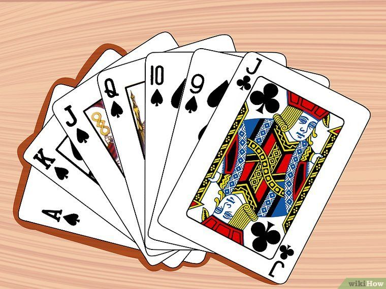 How To Play Euchre 14 Steps With Pictures Fun Card Games Euchre Card Games