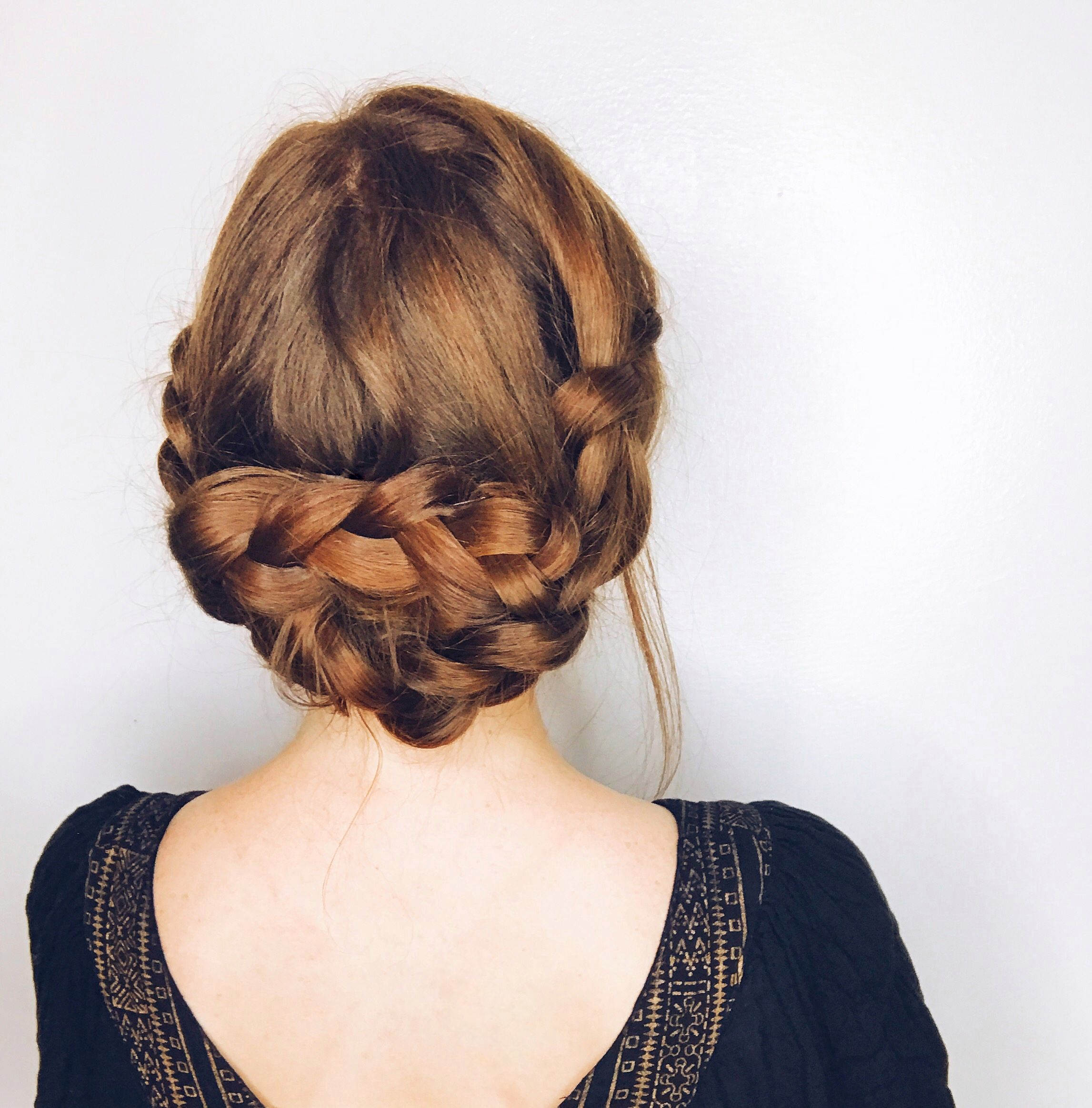 Braided updo knotprofessionals knot professionals pinterest