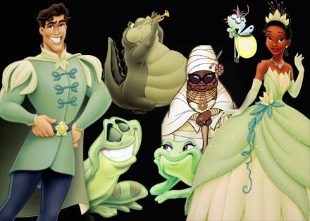 Princess And The Frog Characters New Character Art From Disney S