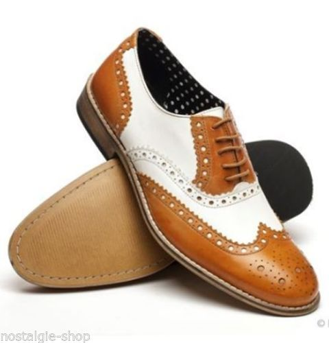 Budapest Shoes BrownWhite 30er 40er 50er Spectator Boogie