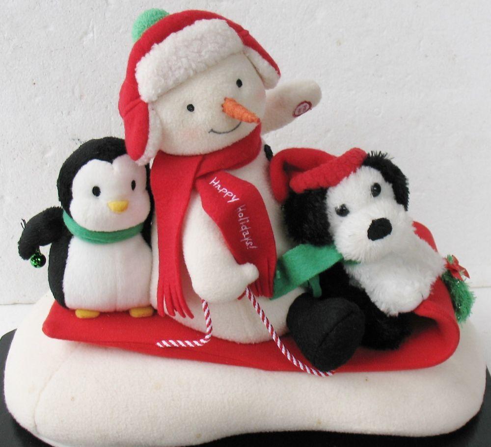hallmark christmas music box