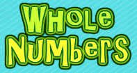 Interactive math lesson and worksheet for Grade 3 on 'Whole Numbers'. Play the lesson to build your number sense skills.