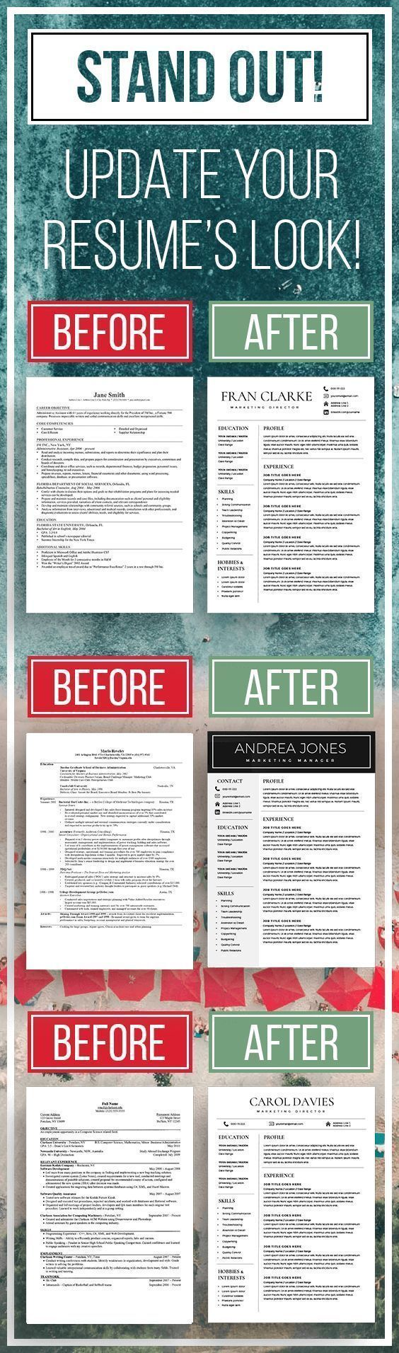stand out  update your resume to more elegant and modern resume