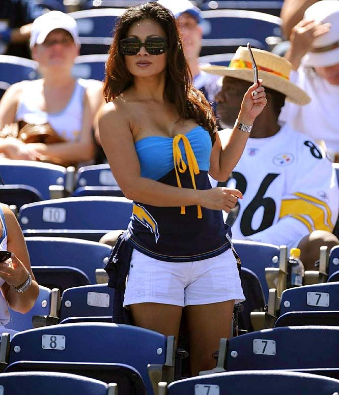 e7ea232f 1 - love this outfit! Sexy and cute San Diego Charger Fan | San ...