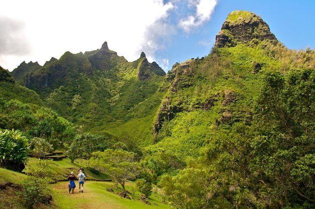 Limahuli National Tropical Botanical Garden On Kauai. Photo By John Flinn