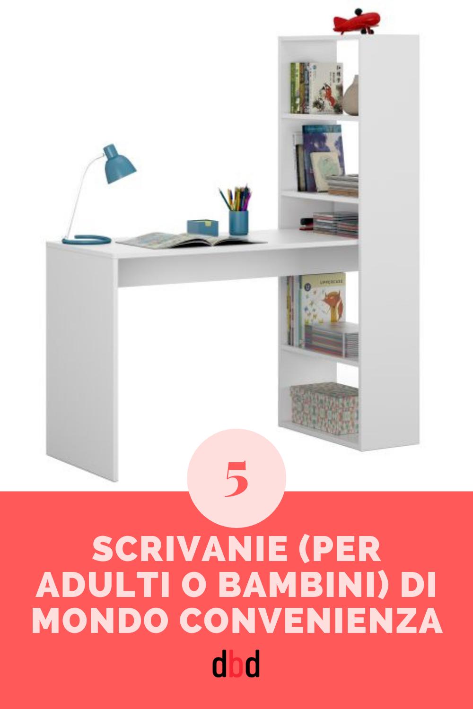 Homelook.it è una grande piattaforma per interior design in italia che facilita la ricerca. 5 Scrivanie Per Adulti O Bambini Di Mondo Convenienza Scrivania Arredamento Design Semplice