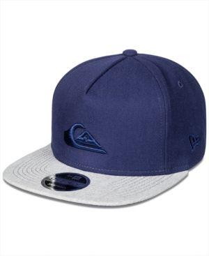 650a7050f88f3e Quiksilver Men's Stuckles Snap-Back Cap - Blue XL | Products | Men ...
