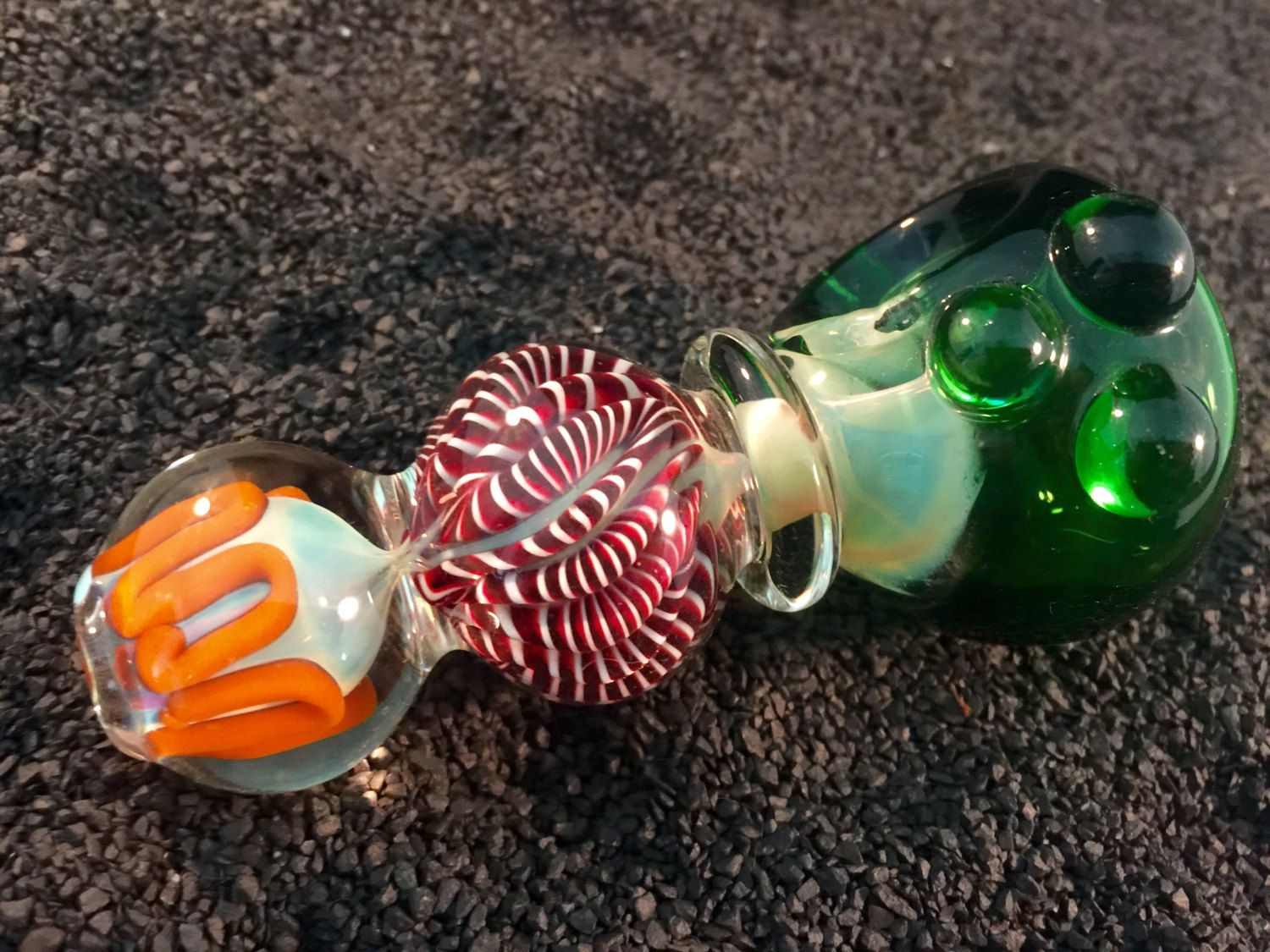 Glass Bowl Pipe Unique Hand Blown Decorative Glass Pipe Custom Made