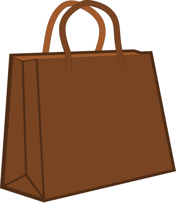 you can use this brown shopping bag clip art on your personal or rh pinterest ie shopping bag clipart white png clipart shopping bag