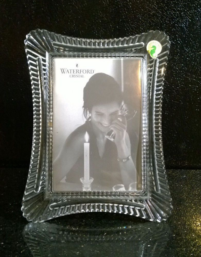 Waterford Crystal 5 X 7 Picture Photo Frame Lismore Design Waterford Crystal Waterford Crystal Lismore Waterford 5 x 7 picture frames