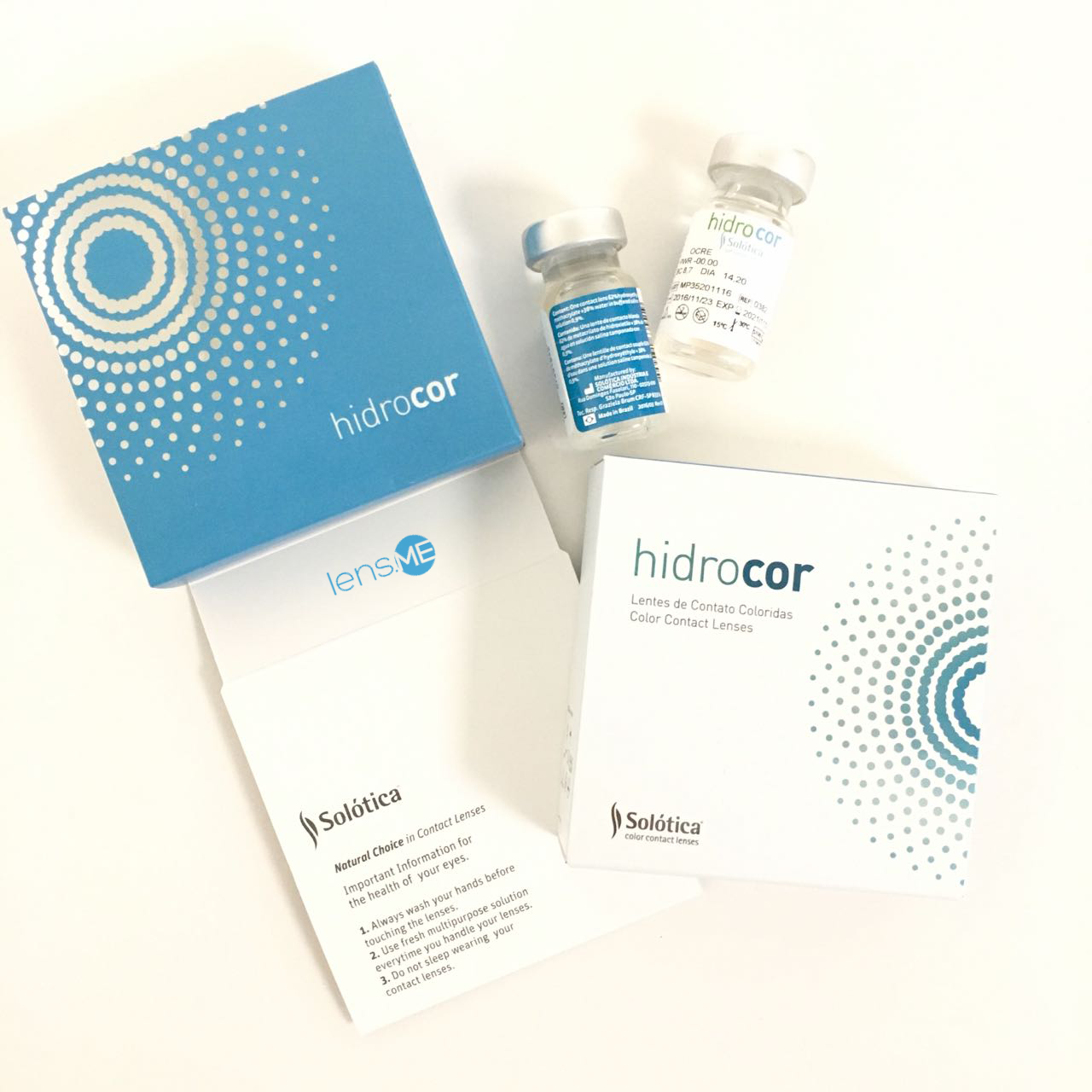 Solotica Hidrocor Contact Lenses Collection From Brand Has Click Here For Non Harmonized Colours No Limbal Ring With Subtle Colors Giving You A Natural Looking Result Double The Photo To See And Learn More
