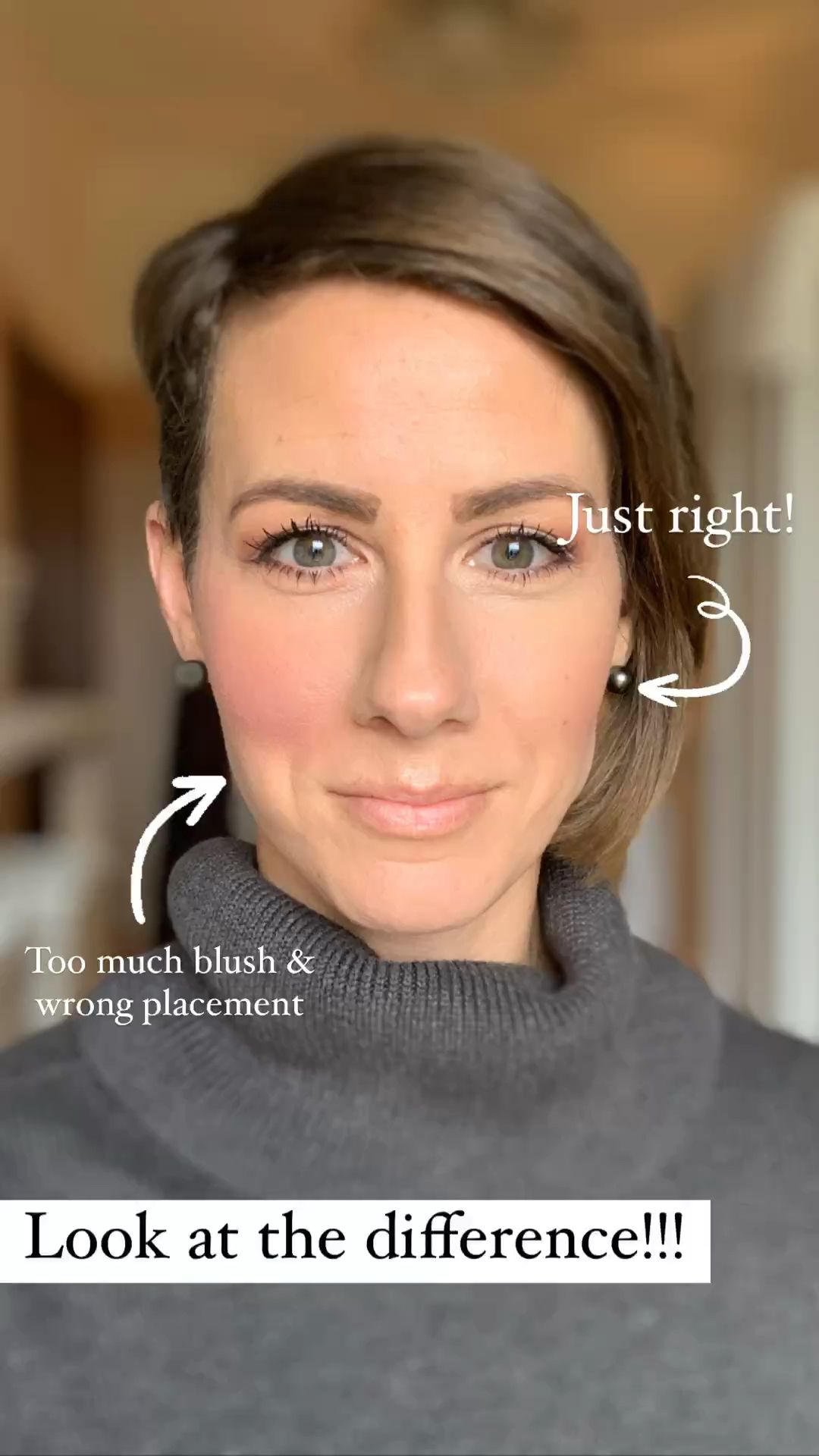 How NOT to Apply Blush!