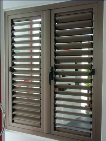 Metal Window Louver Shutter Photo Detailed About Metal Window