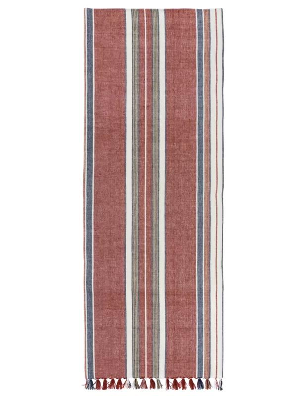 Acevedo 100% Cotton Striped Table Runner In 2019