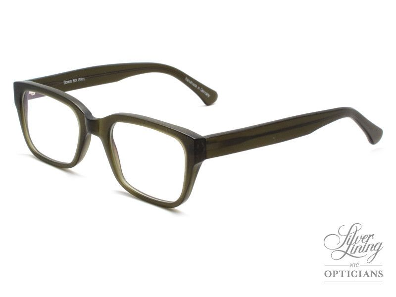 08ff228f540 Silver Lining Opticians - Boron Olive Matte - Vintage Sunglasses ...