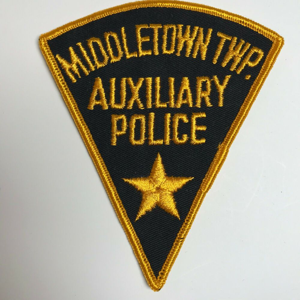 Middletown Township Auxiliary Police New Jersey Patch