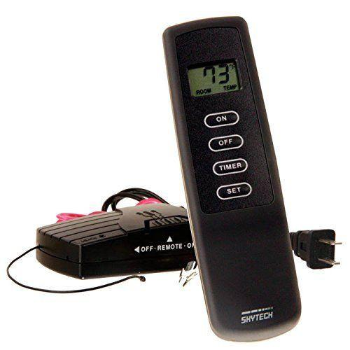 Fireplace Timer Remote Control Skytech 115 Volt 1410tlcd A With