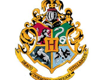 Effortless image in printable hogwarts crest