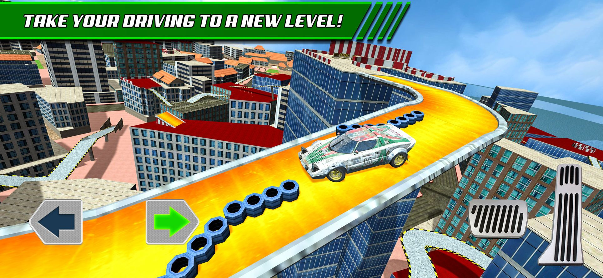Roof Jumping Stunt Driver Sim Games Play Racing Ios Stunts Sims Roof