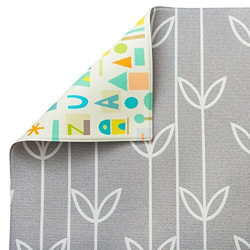 Baby Care Play Mat Haute Collection Large Sea Petals Grey