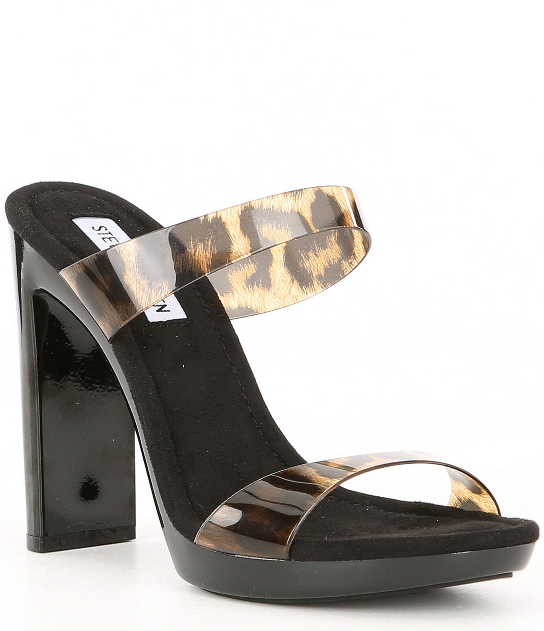 Definición bolsillo Solo haz  Steve Madden Glassy Leopard Mule Dress Sandals - Leopard 9M | Women's  mules, Steve madden, Dress sandals