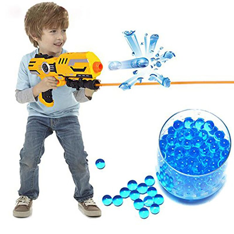 Buy Soft Crystal Water Paintball Bullet Gun Toy Nerf Bibulous Water Gun  Accessories (Color: Multicolor) at Wish - Shopping Made Fun