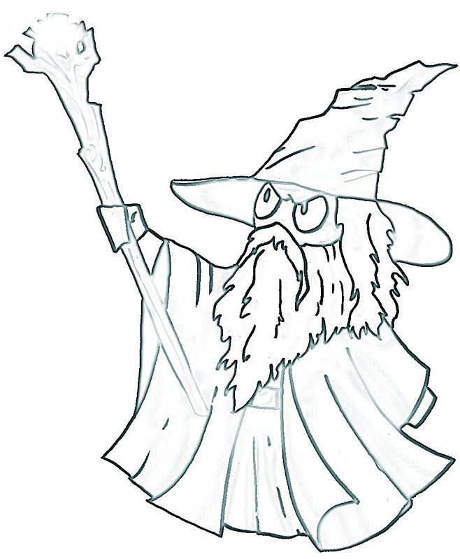Gandalf the hobbit coloring pages | Middle Earth Free Printables ...