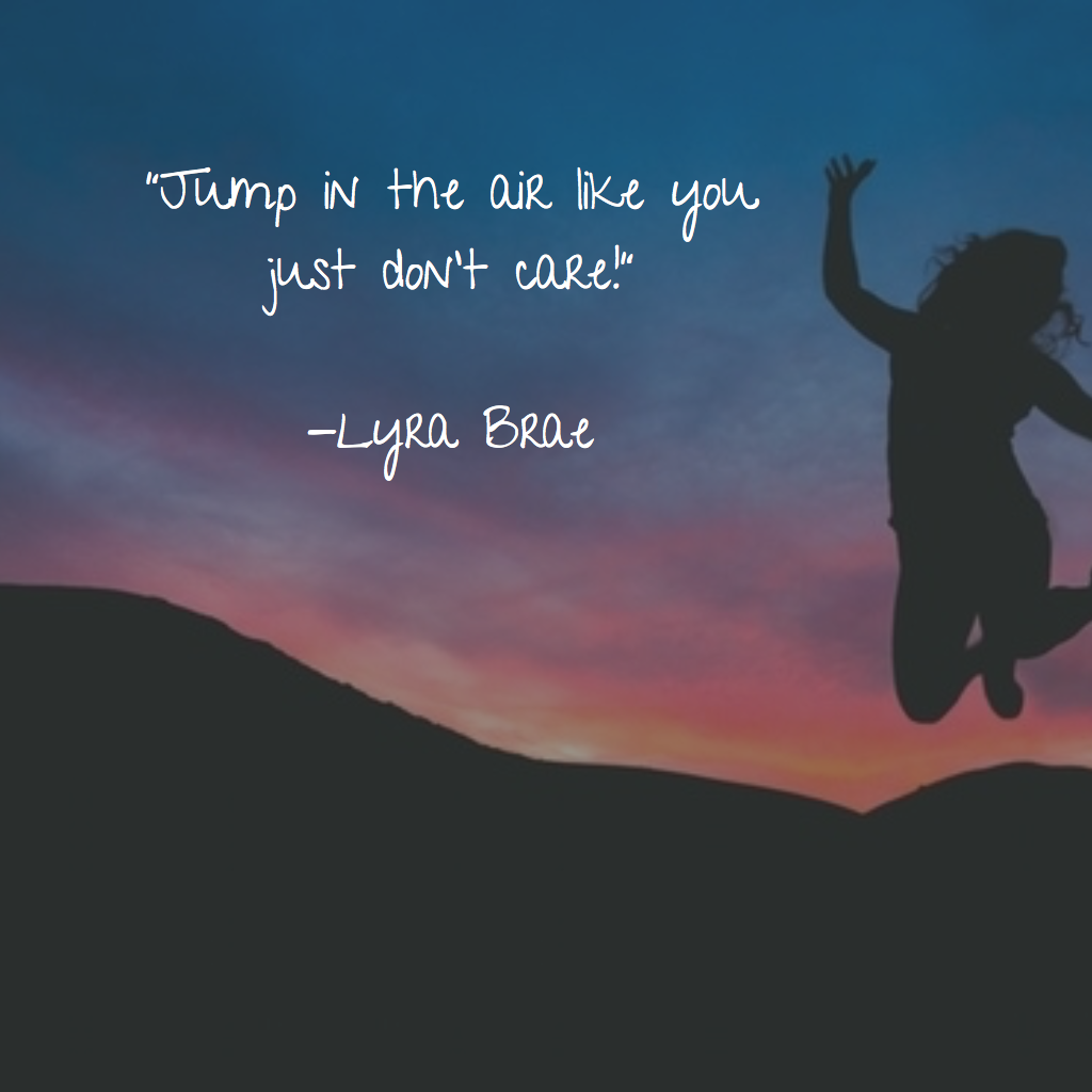 Lyra Brae Lyrabrae Air Quotes Quote Of The Day Inspirational Quotes