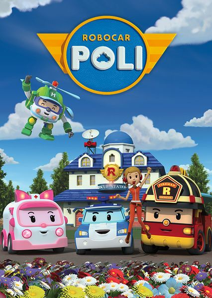 Robocar Poli When Disaster Strikes In Broom S Town Police