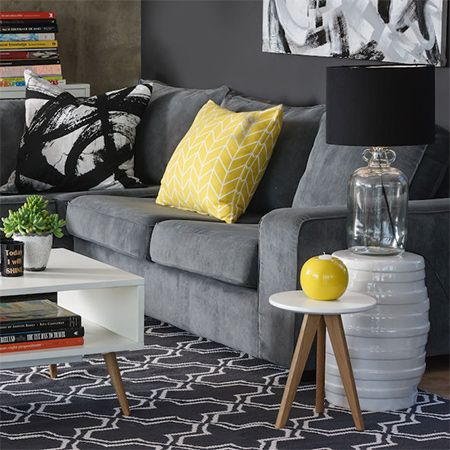 Black White And Yellow At Mr Price Home Home In 2019 Mr Price
