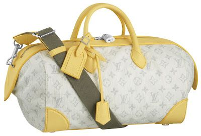 Louis Vuitton Monogram Denim Yellow Sdy Your Friends Will Be So Jealous