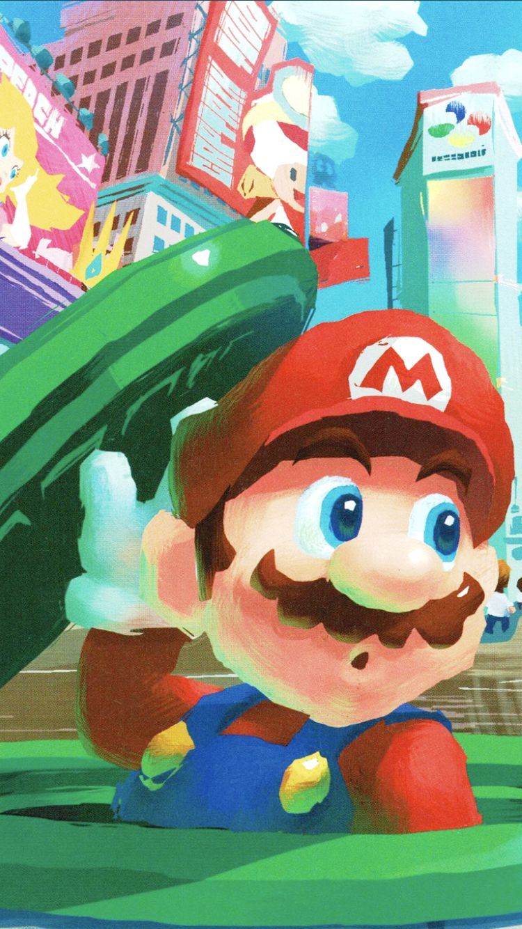 Super Mario Odyssey mobile wallpaper #SuperMarioOdyssey