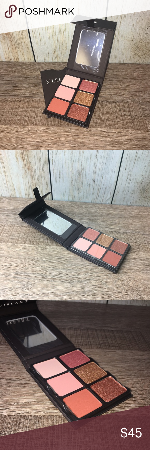Viseart 'Theory VII Siren' Eyeshadow Palette Brand New In