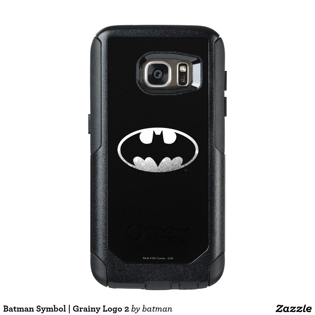 Batman Symbol Grainy Logo 2 Otterbox Samsung Galaxy S7 Case